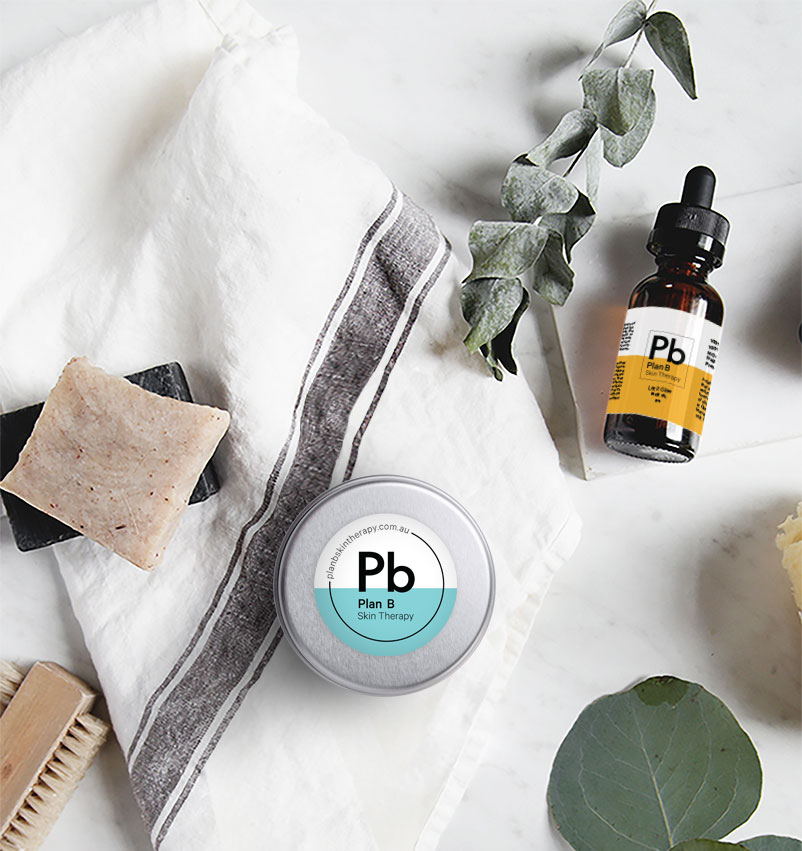 plan b skin therapy deodorant and face oil
